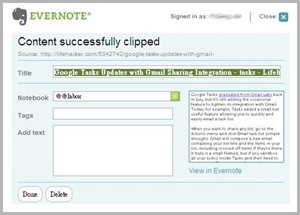 EverNote_Web Clipper
