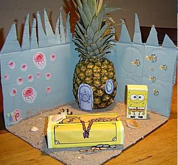 Surprise Ananas huis