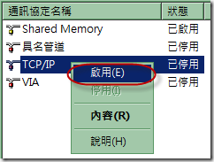 02_啟用 TCPIP