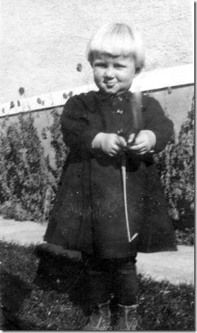 Velda about age 2