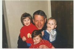 Grandpa & some of his girls, 1997