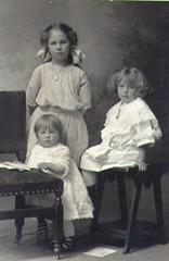 Mary 9, Anna 6, Theodora 21mos, Ostlund