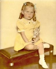 Karen Ann Ostlund, about 1943
