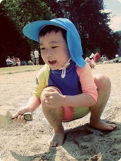 Josh-sand