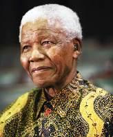 Batik, Nelson Mandela, dan lambang Afrika Selatan