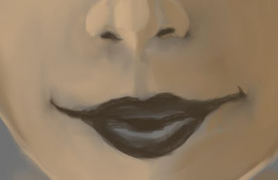 Tutorial portrait painting in gimp gimptalk premier gimp the upper lip extends from the bottom of the nose into the mouth there is a vertical ridge along it that is pronounced differently between different ccuart Choice Image