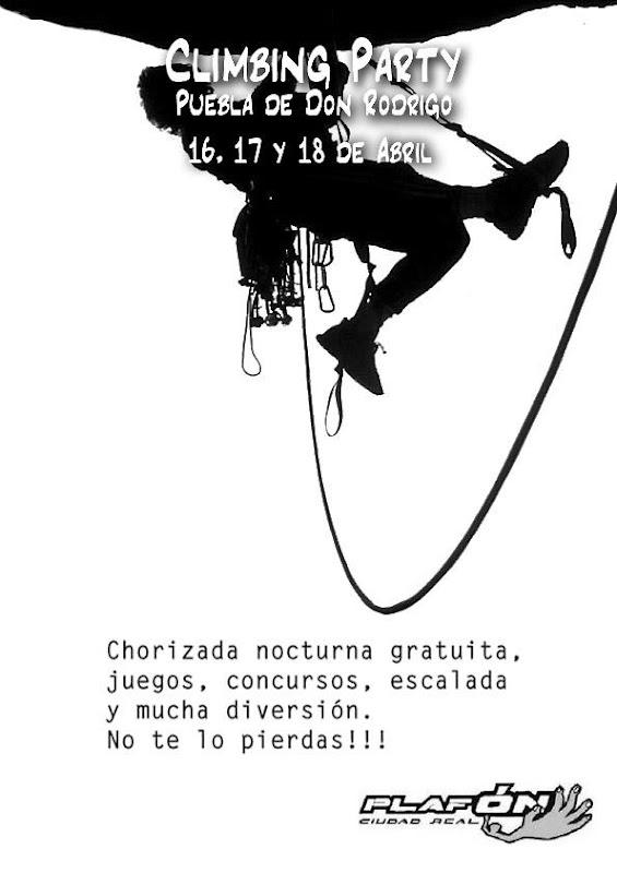 Climbing Party en La Puebla de Don Rodrigo