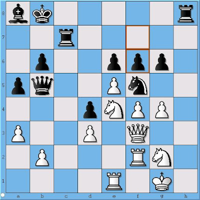 GM Alex Stripunsky - GM Sergey Erenburg, Position 1