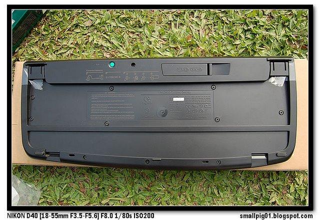 羅技無影手Pro 2400無線滑鼠鍵盤組