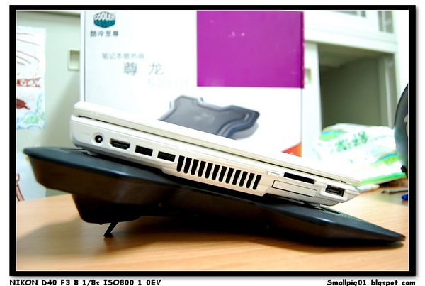 [開箱] CoolerMaster Notepal X1 筆記型電腦散熱墊