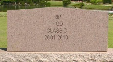 RIP iPod Classic