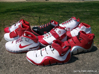 nike zoom soldier 2 xx zach osu collection 1 12 Throwback Thursday: Zachs Nike LeBron Ohio State Collection