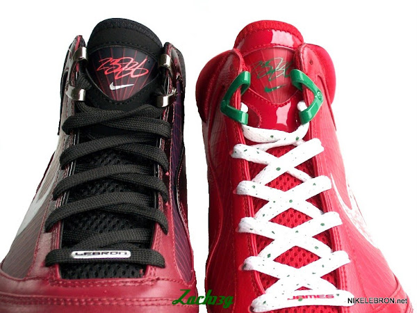 Another Look at Big Apple Nike LeBron VII Xmas8217 Comparison