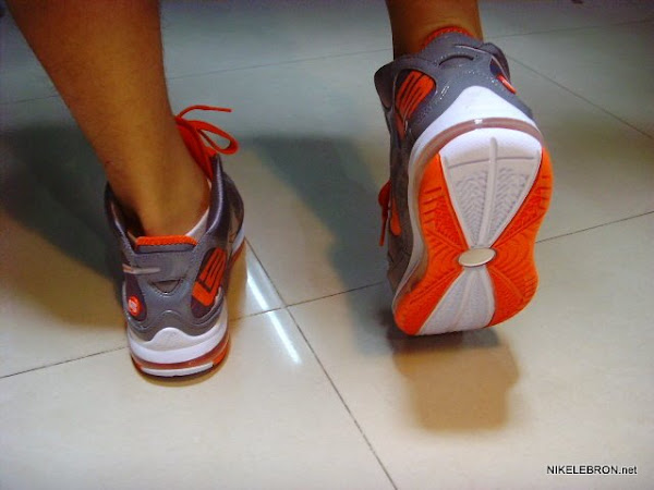 Upcoming Nike Air Max LeBron VII Grey White Orange New Photos