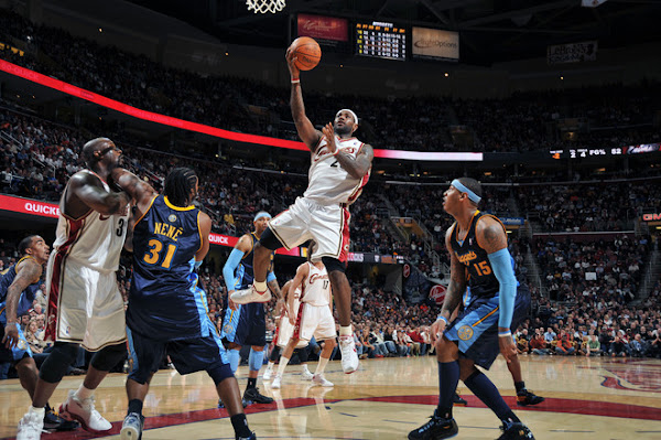 Cavs8217 Streak Snapped LeBron Scores 431513 Triple Double