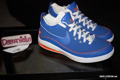 nike air max lebron 7 low gr white royal orange 3 03 Nike Air Max LeBron VII Low   Rumor Pack   I Love NY is Real!