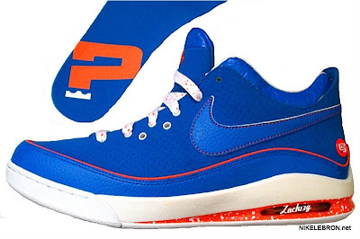 nike air max lebron 7 low gr white royal orange 2 03 Nike Air Max LeBron VII Low   Rumor Pack   I Love NY is Real!