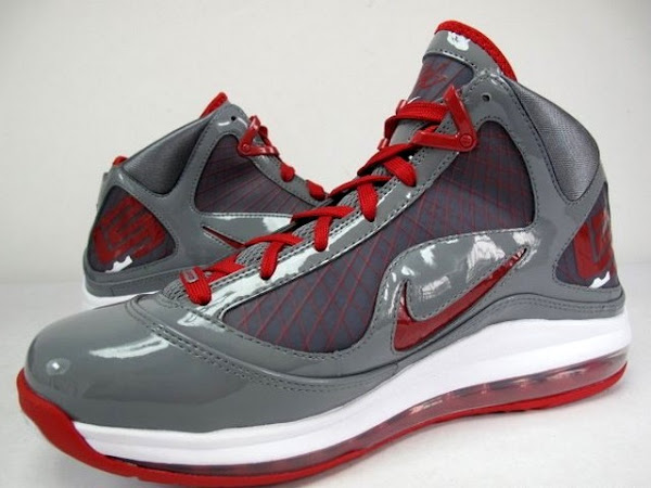 Releasing Now 393320002 Grey  Red 8220OSU8221 Nike LeBron VII TB