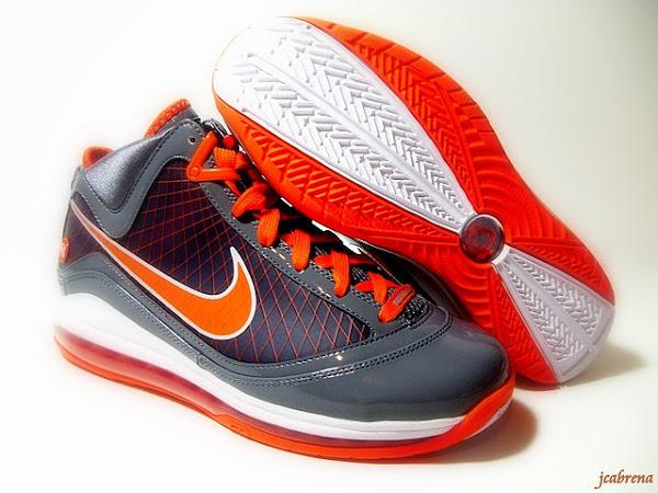 Releasing Now Nike LeBron 7 Grey  Orange strikeEastbaystrike Exclusive