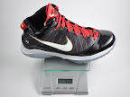 lebron7 ps black white red gram Weightionary