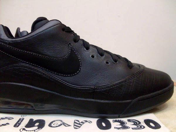Nike LeBron VII 7 Low Sample 8211 BlackRed PlumDark Grey