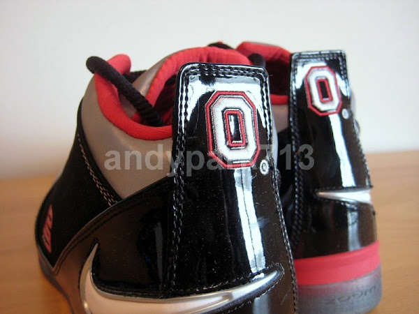 Detailed Look at the Recently Released LeBron ZS2 OSU Away