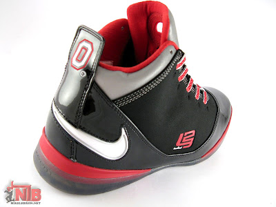 lbj soldier ii pe osu away5 08 Ohio State Buckeyes Nike Zoom Soldier II Away Showcase