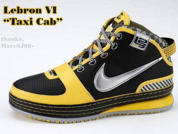 Another Tribute to NYC 8211 Taxi Nike Zoom LeBron VI