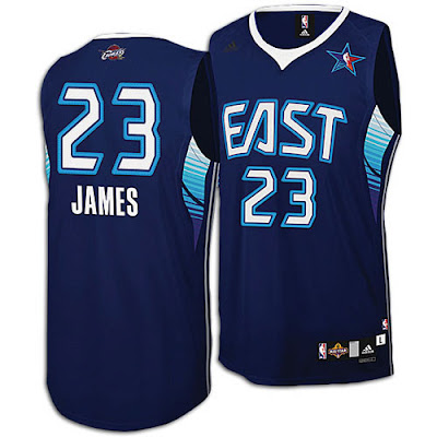 news jersey all star 2009 LeBron James 2009 NBA All Star Jersey and Shoes