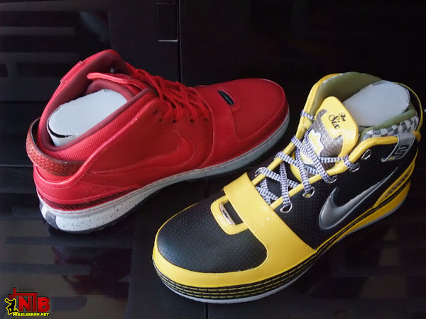 NYC Themed 8211 Big Apple and Taxi Zoom LeBron 6s