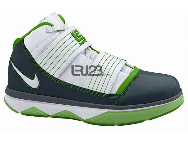 Nike LBJ ZS3 New Colorways 8211 Dunkman and Speckled Grey