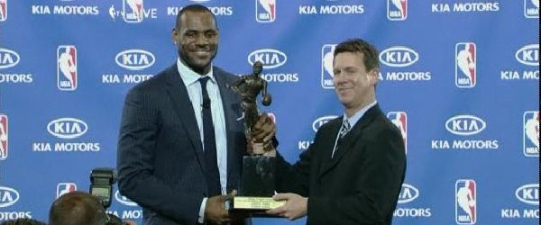 King James Crowned 200809 NBA Most Valuable Player MVP