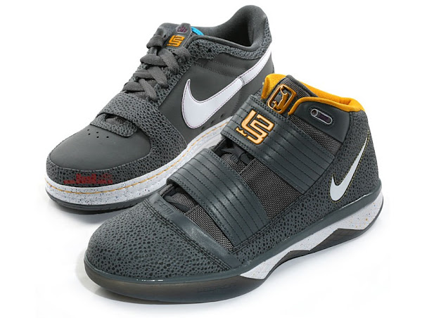 Nike Zoom LeBron Cool Grey Safari Theme ZS3 amp ZL6 Low