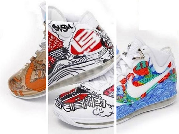 Preview of MTAG China Editions of the Max LeBron VII Artist Series