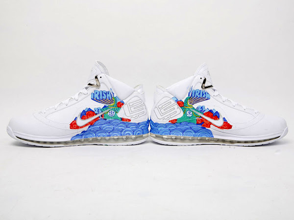 Nike Air Max LeBron VII Artist Series Shenyang by Ray Lei