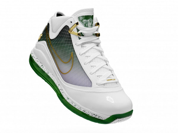 Los Angeles Limited Edition Air Max LeBron VII 8220Fearless8221 Official Pics