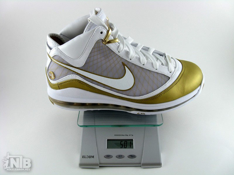 online store 81bdd dee10 ... low price nike air max lebron vii 8211 flywire vs nfw 8211 weight  comparison f6806 06f61