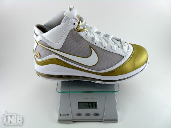 Nike Air Max LeBron VII 8211 Flywire vs NFW 8211 Weight Comparison