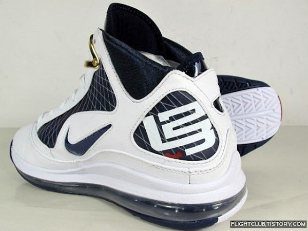 Preview of the Upcoming White and Navy Nike Air Max LeBron VII