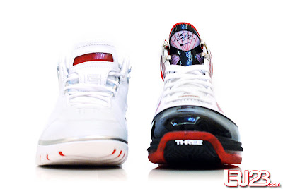 nike air max lebron 7 gr black red white 12 front1 1 2 3 4 5 6 7: Nike LeBron Series Round Up / Comparison