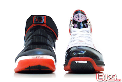 nike air max lebron 7 gr black red white 12 front4 1 2 3 4 5 6 7: Nike LeBron Series Round Up / Comparison
