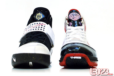 nike air max lebron 7 gr black red white 12 front5 1 2 3 4 5 6 7: Nike LeBron Series Round Up / Comparison