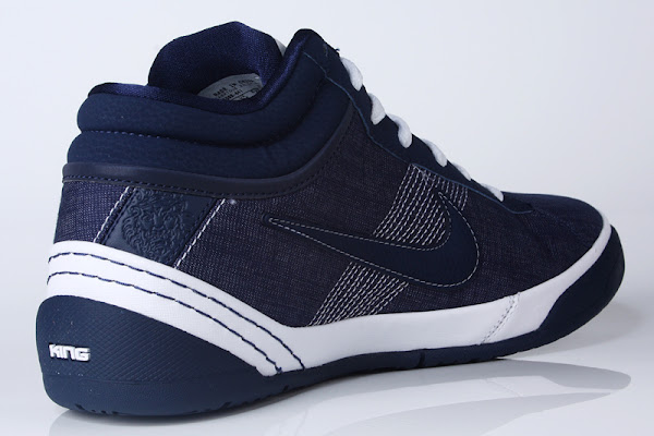Upcoming Zoom LBJ Ambassador II Midnight Navy  White Denim