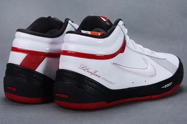 Another Look at the Black  White  Red Zoom LBJ Ambassador II