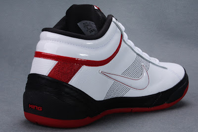 nike zoom lebron ambassador 2 gr black white red 5 03 Another Look at the Black / White / Red Zoom LBJ Ambassador II