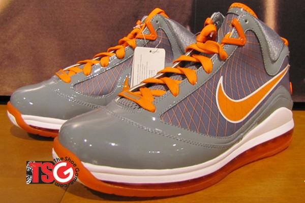 2009 Nike Air Max Lebron Viii Dorange