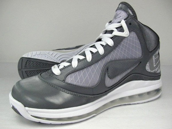 Nike Air Max LeBron VII 7 375664002 Cool Grey White .. ... 4ef72400b8