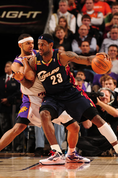 LBJ Records a Triple Double in OT Win in SacTown Cavs End Suns8217 Home Game Winning Streak