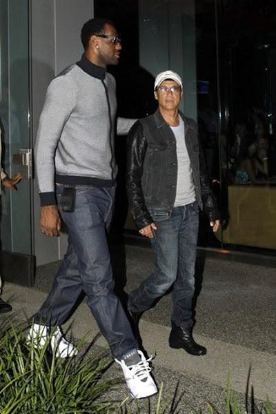 LeBron James Wearing the Nike Air Jordan VII Defining Moments