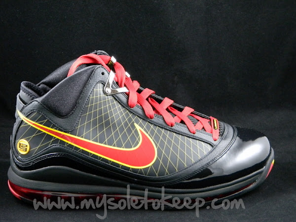 First Look Air Max LeBron VII 8220Fairfax8221 Away Player Exclusive